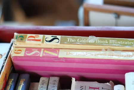 vintage Golden Book Dictionaries