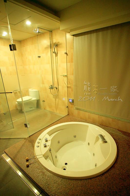 新北土城汽車旅館 有馬溫泉Motel~沒有景觀的露天湯池   熊本一家の愛旅遊瘋攝影