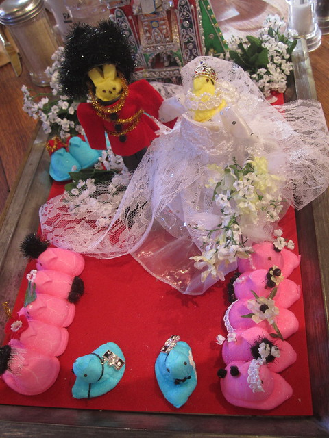 The Royal Wedding Made out of Peeps