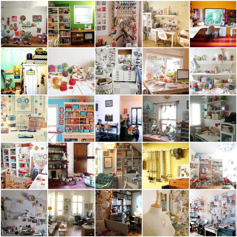 My inspiration. Craftroom