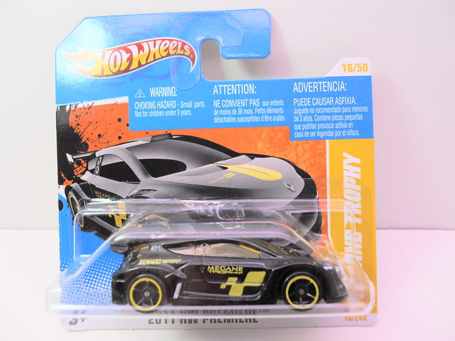 hot wheels megane trophy black short card (1)