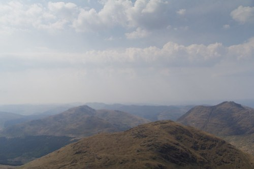 View from Beinn Ime