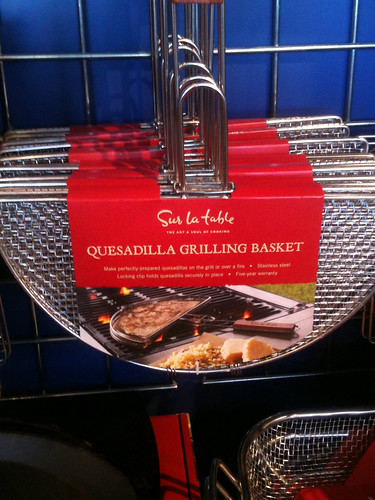Quesadilla grill pan