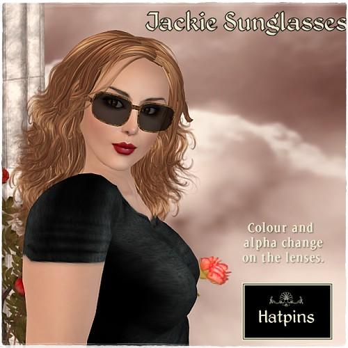 Hatpins - Jackie Sunglasses