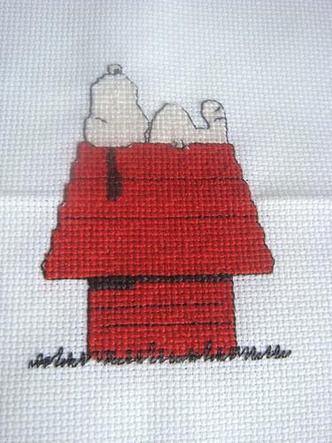 x-stitch: Snoopy
