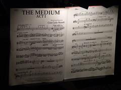 Partitura The Medium