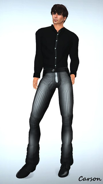 _b[ELLE] - Vest Suit - Grey