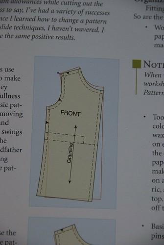 PFwC - Pivot & Slide method for large bust
