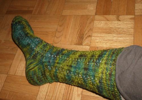 La Vie de Bois Socks - Sock 1 Side