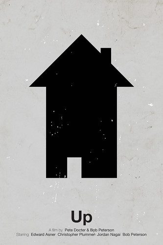 'Up' pictogram movie poster