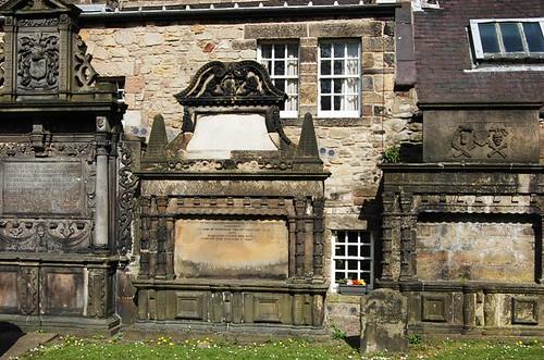 Greyfriars Churchyard headstones