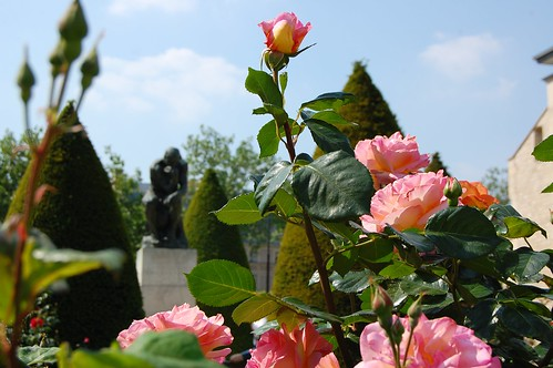 Rodin Museum Garden: The Thinker