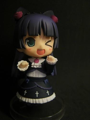 Nendoroid Kuroneko with Miku HMO's face plate