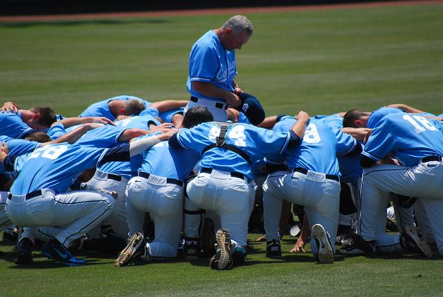college baseball: uva @ unc, game 3