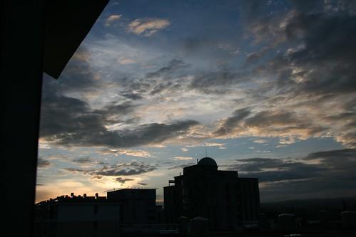 skies at dawn