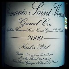 Romanee Saint-Vivant 2000 Nicolas Potel