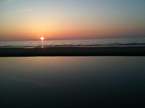 Spring Equinox Sunset at Noordwijk aan Zee