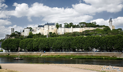 FRANCIA '09: Castillo de Chinon (Valle del Loira)