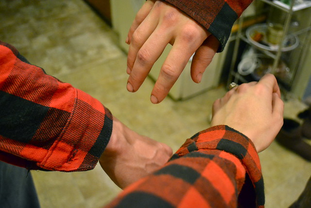 Matching flannel
