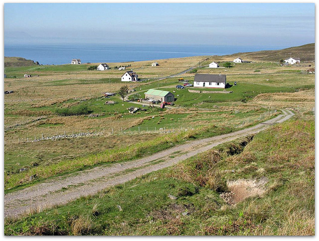 Crofting township north of Gairloch