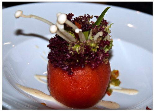 Salad Stuffed Tomato