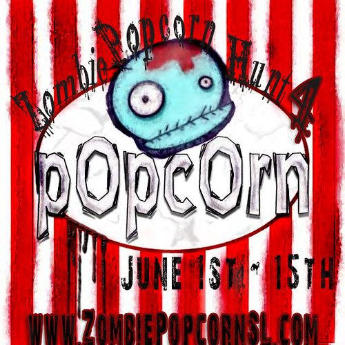 ZombiePopcorn Hunt 4 Logo