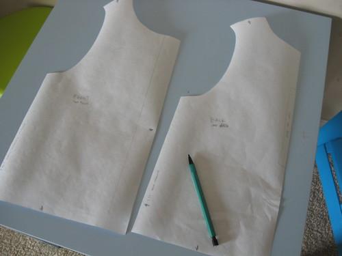 vest - pattern wip