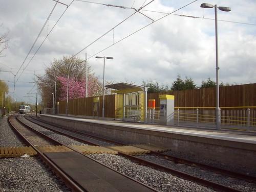 Abraham Moss northbound platform