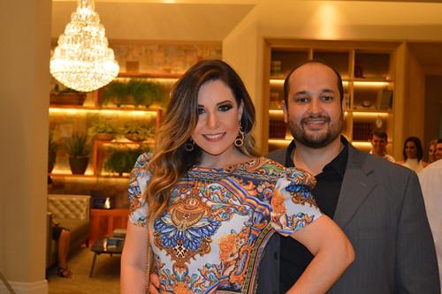 Os donos da festa, Anelise Gopes e Bruno Freire