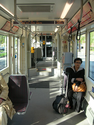 Interior Seattle streetcar