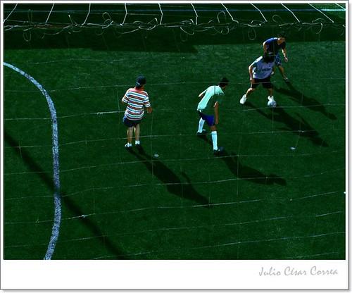 Jugadores (4) by Julio César Correa