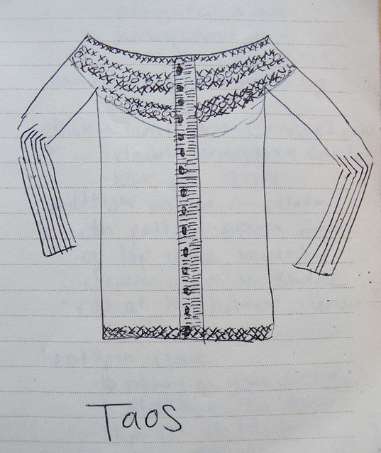 Taos sketch