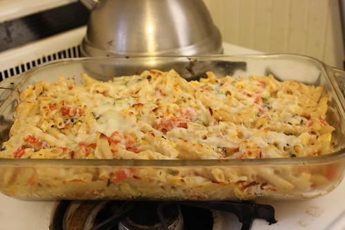 pasta and summer veggies 001