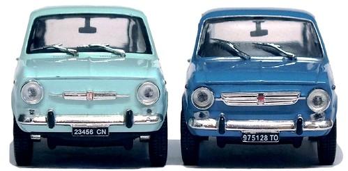 14 Norev Fiat 850 & Special
