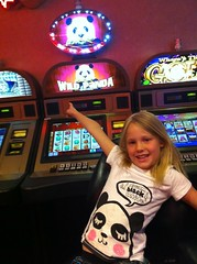 Panda sighting in Vegas by pahlkadot