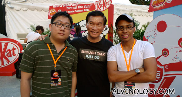 Me and Nabil with Yam Ah Mee