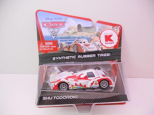 Disney Cars 2 Kmart event 2011 rubber tire Shu Todoroki (1)