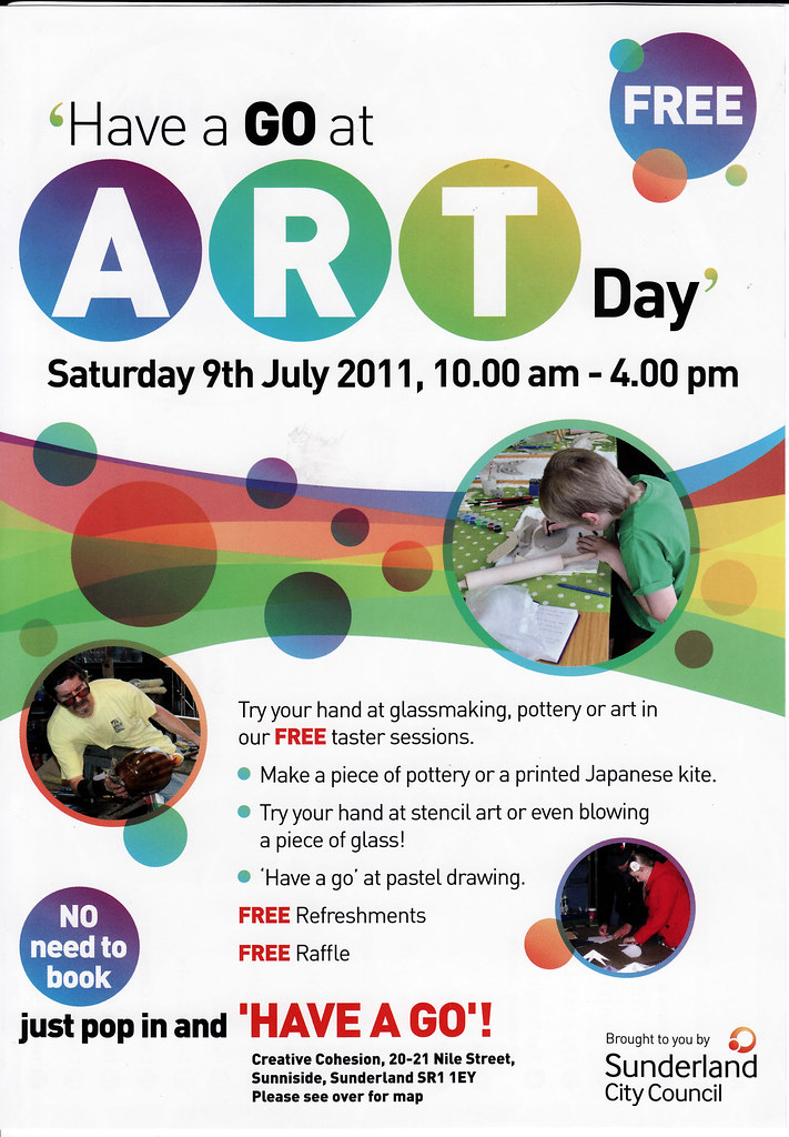 Art Classes and Workshops in Sunderland
