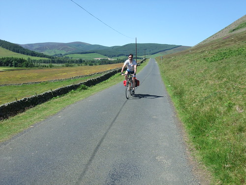 Cycle touring in the Scottish Borders