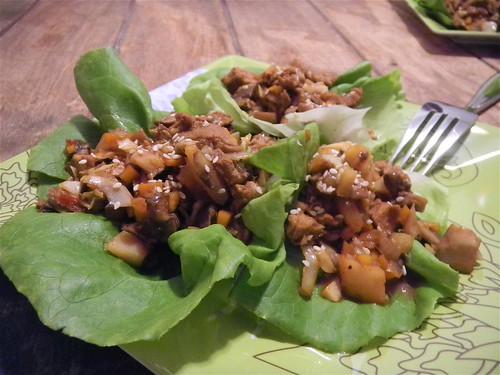Pork Tenderloin Lettuce Wraps