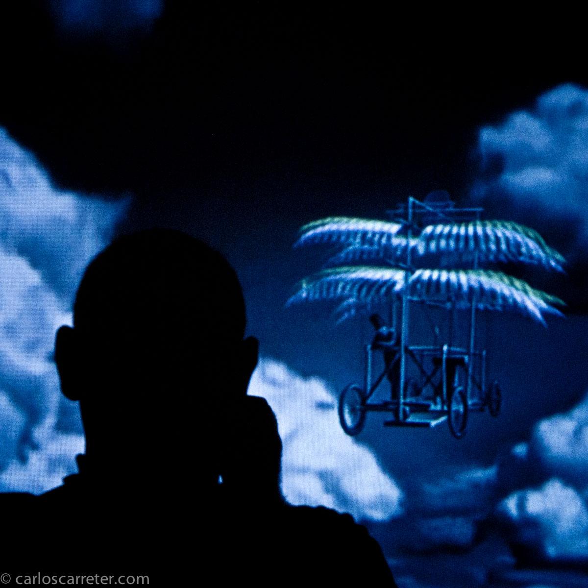 Autorretrato sobre pantalla de vídeo (MUICO)