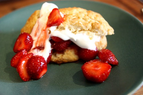 Strawberry shortcake, noms!