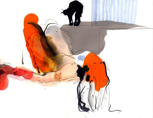 nude & cat