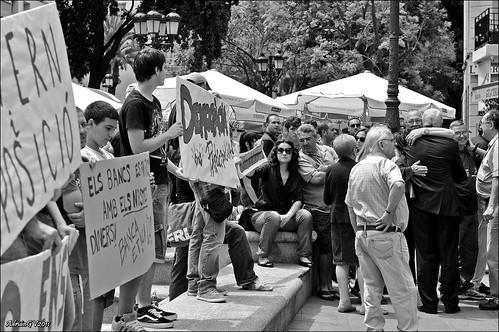Indignats del moviment 15 Maig 5 by ADRIANGV2009
