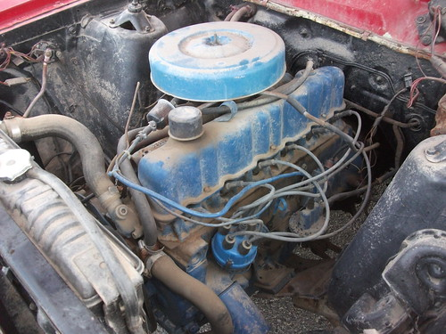 1968 Ford Falcon inline six engine