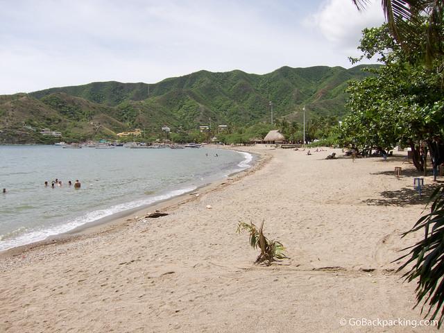 Beach at Taganga