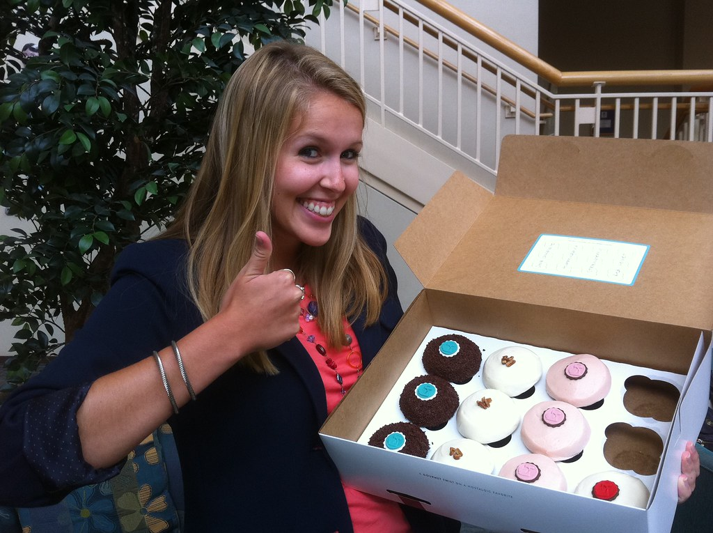 Nicole loves Crave Cupcakes!