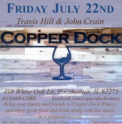 Copper Dock 7-22-11