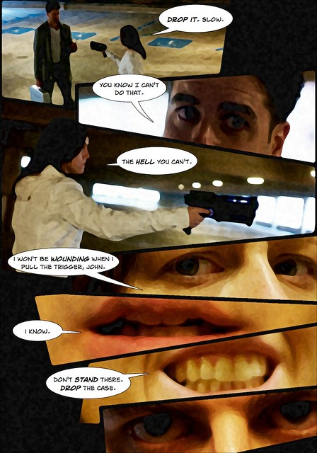 Amber & Nick Action Shoot - Comic, Page 3 of 6