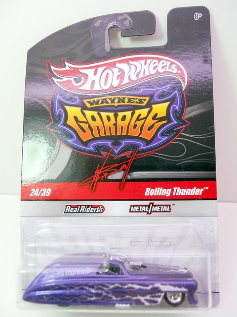hot wheels waynes garage rolling thunder purple (1)